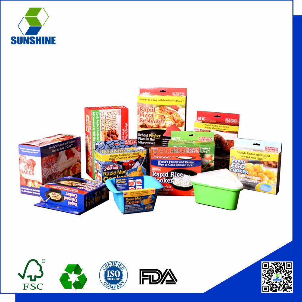 Best quality food paper packing box