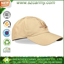 Breathable dome Poly / cotton cheap military custom baseball cap