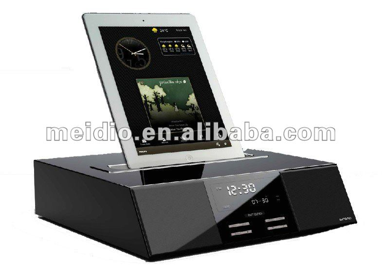 HiFi Speaker And Charging Dock Stand For IPad And IPhone