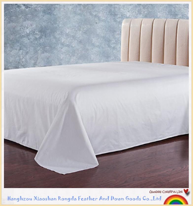 Wholesale 100% Egyptian Cotton Luxury Comfortable Hotel Bed Sheet