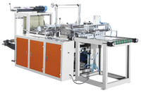 heat sealing and cutting PE OPP film plastic bag making machine/Rolled bag sealing and cutting machine
