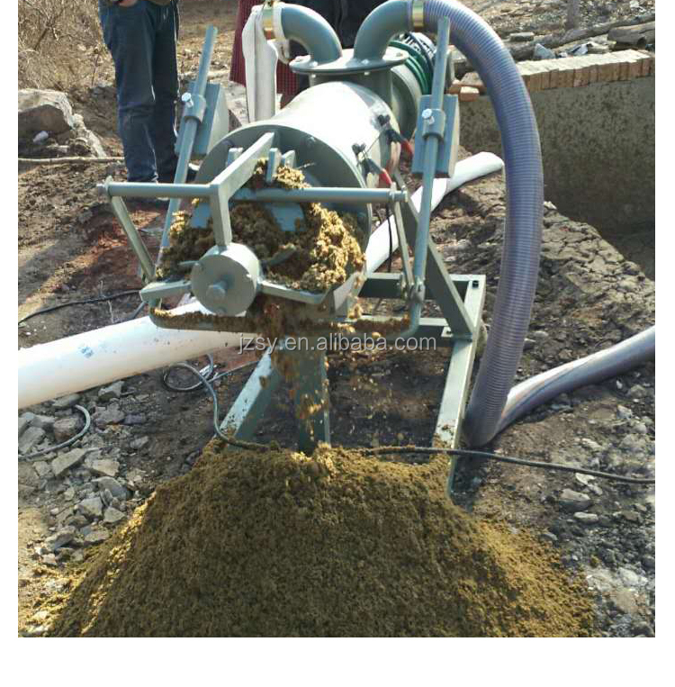 Wholesale Price Cattle dung dewater machine/horse Solid Liquid Separator