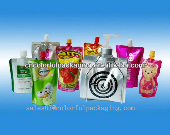reusable spout pouch/food packaging manufactures/biodegradable pouch packaging