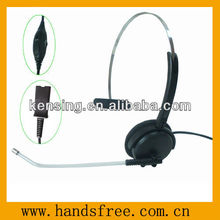 Professional call center headset with a fashionable design