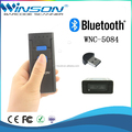 WNC-5084 mini portable qr code scanner bluetooth barcode reader with usb
