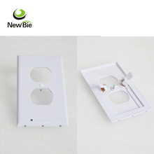 Wall Plug Electric LED Sensor Night Light Outlet Covers Night Angel