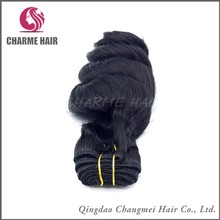 Hot sale loose wave style brazilian human hair extension