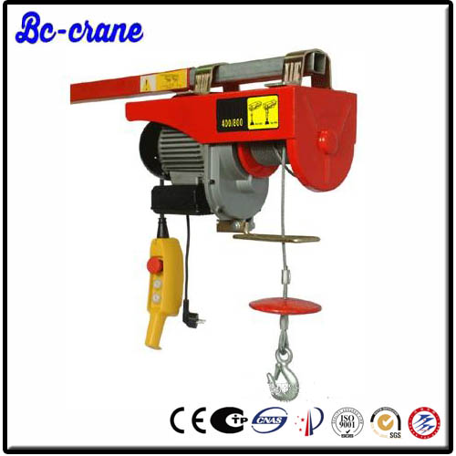 Electric Cable Hoist 110v : Small electric winch wire rope hoist v buy