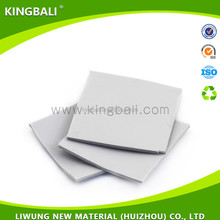 10mm thickness thermal conductive silicone rubber pads for ic/cpu