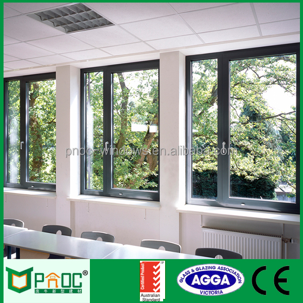 Sale aluminium insulated window manufactures in China Guangzhou city