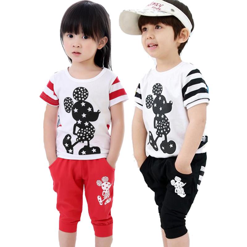 Buy Cute Baby Boy Clothes Sets Kids Boy Summer Clothing Set T Shirt