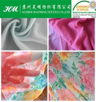 Accordion pleats chiffon fabric