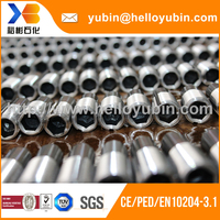 high quality precision processing bronze bush bearing/sintered bronze bushings