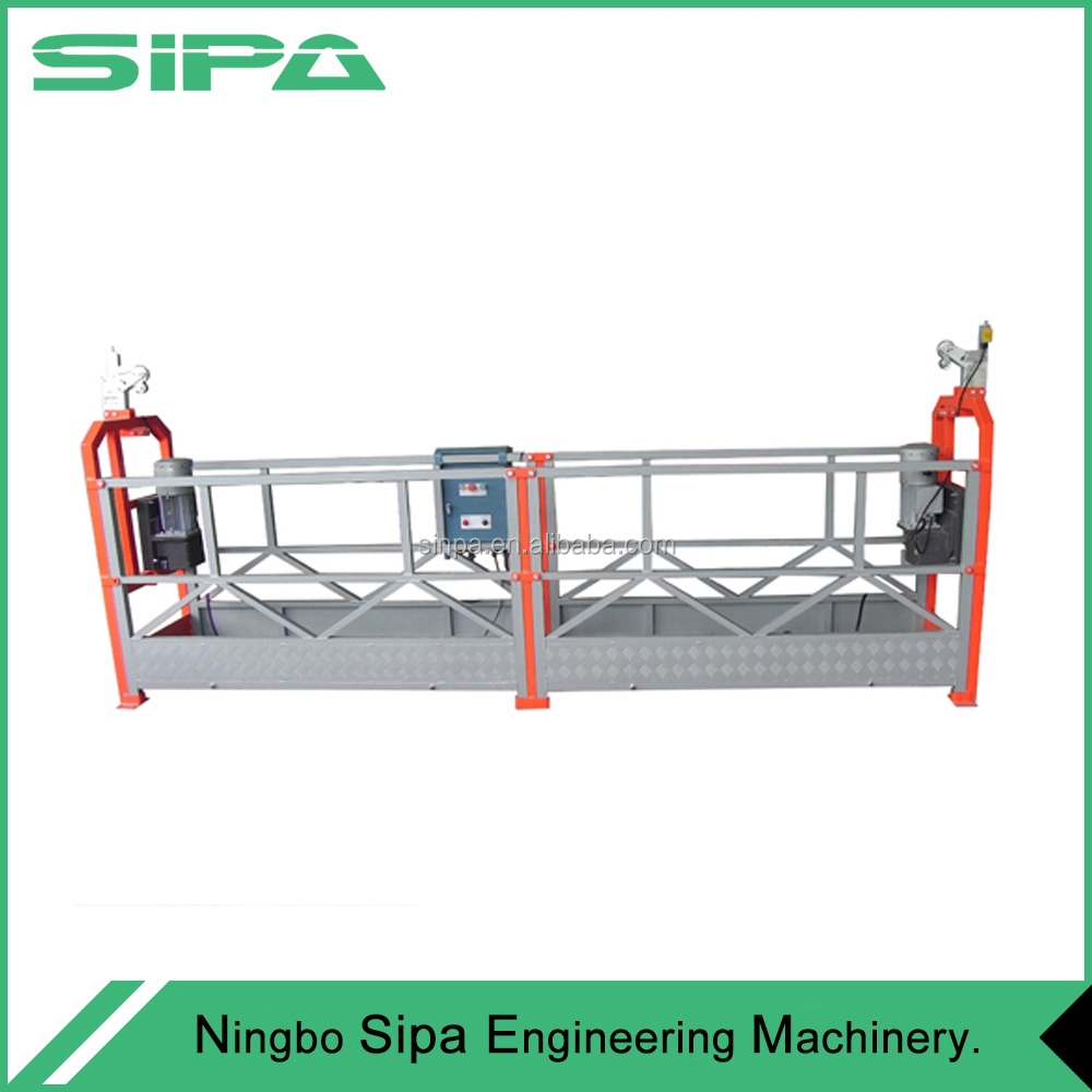 Best use Electric Construction/ Building/ External Wall Suspended Platform/ Cradle/ Gondola/ Swing Stage/ Sky Climber/ Scaffold