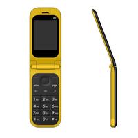 China 2.4inch Cheap Unlocked Dual Sim Flip Feature Mobile Phone