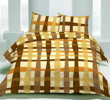 cheap 2014 Stripe pattern disperse 100% polyester fabric bed duvet cover