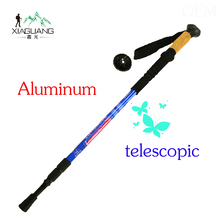 Travel adjustable telescopic stool walking stick