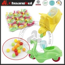 Mini Motorcycle Candy Toy, Plastic Toy Candy