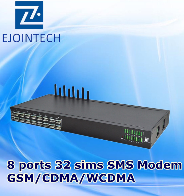 3g modem pool send and receive bulk sms free sms marketing softwarer 8 port 32 sim gsm gateway device sim card dialer