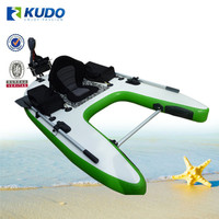 2015 High Quality inflatable Fishing Board With Trolling Motor