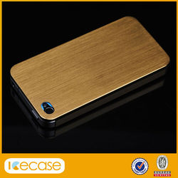New Shockproof glass Aluminum Alloy case for iPhone 5/5s, Ultra Thin Alloy Titanium Metal phone Case for iphone 5 5S