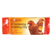 Mont Marte Air Hardening Modelling Clay - Terracotta 500gms