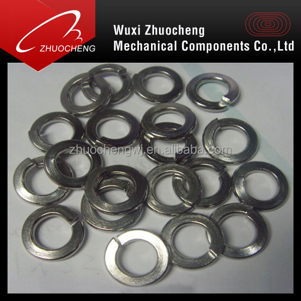 stainless steel spring lock washers