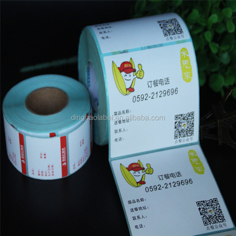 Factory Provide Scale labels Supermarket Direct Thermal Labels