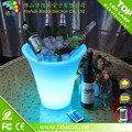 LED ice bucket PE Plastic