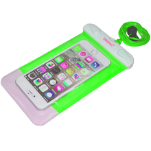 waterproof cell case for samsung mobile waterproof bag for phone