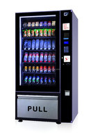 Auto refrigerated retail fast food vending machine