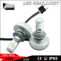 Low price auto lighting h7 1800 lm car led headlight for toyota highlander