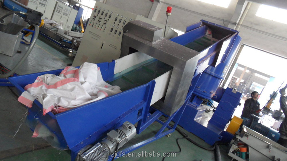 advanced technology waste ldpe lldpe pe hdpe pp plastic pellets granulation line machine