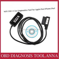 2015 WiFi OBD-II Car Diagnostics Tool for Apple iPad iPhone OBD2 Code Scanner WiFi free shipping