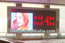shopping mall outdoor led light display advertising board prices P6 smd 3 in 1 hign resolution arc led display screen
