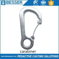 Factory Price OEM Alloy Steel Carabiner Casting