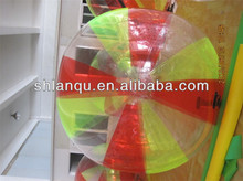 Colorful inflatable water ball for sale super quality bubble ride
