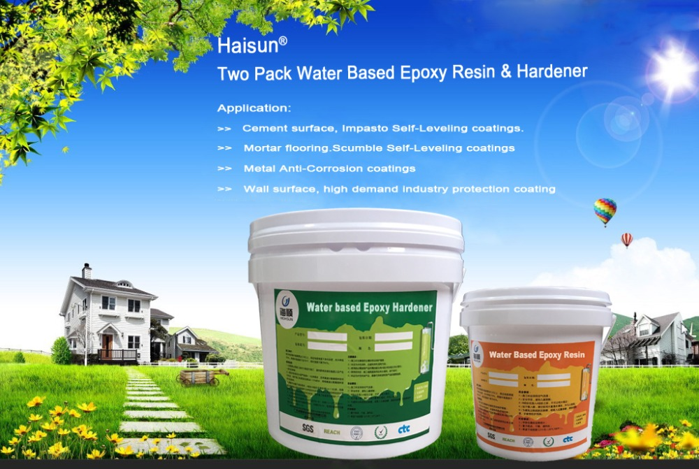 Best price epoxy resin material for floor primer paint HCT2788 A/B
