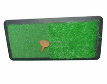 golf swing practice chipping mat