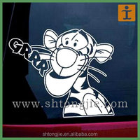 Wholesale Two Sides Full Color Printed No Smoking Vinyl PVC Window Car Sticker