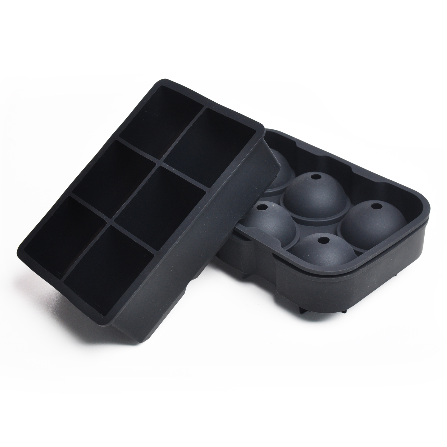 Renjia ice tray death silicone ice ball and silicone ice cube tray