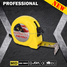 Hot selling co-molded steel tape measure 22 series 3M 5M 7.5M 8M 10M measuring tape