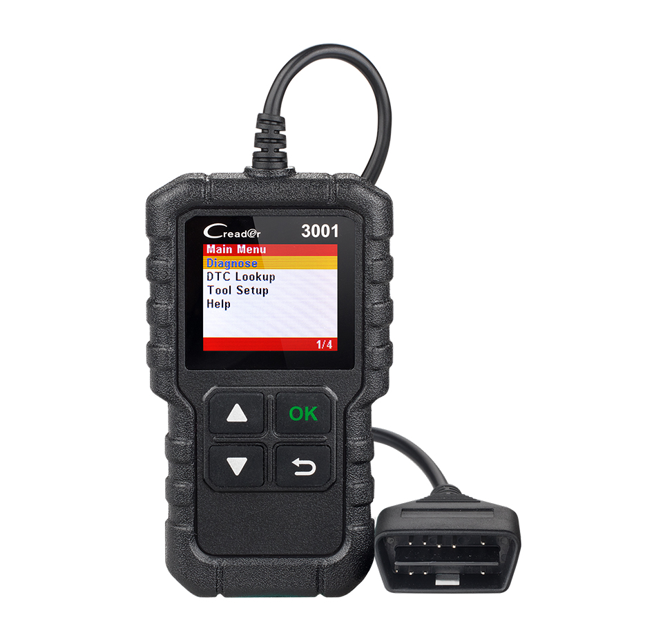 Launch CR3001 <strong>O2</strong> Sensor Test obd2 scanner car diagnostic tool