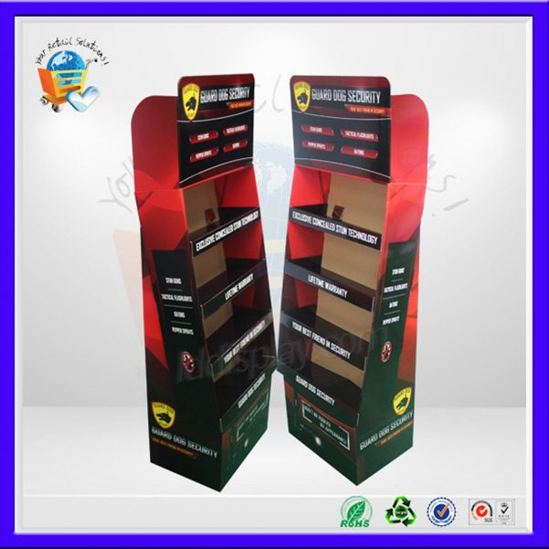 vest carton pallet display stand ,vendor display ,vegetable pos display