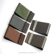 2016 Custom Carbon Fiber Money Clip, Carbon Fiber Wallet