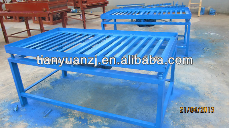 concrete pave brick vibrating table for sale