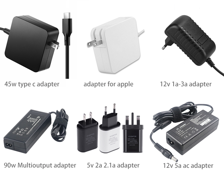 US EU UK AU Plug USB Wall Charger Fast Charging 65w 45w Type c Power Adapter 5v 3a 9v 3a 12v 3a 20v 2.25a for Macbook