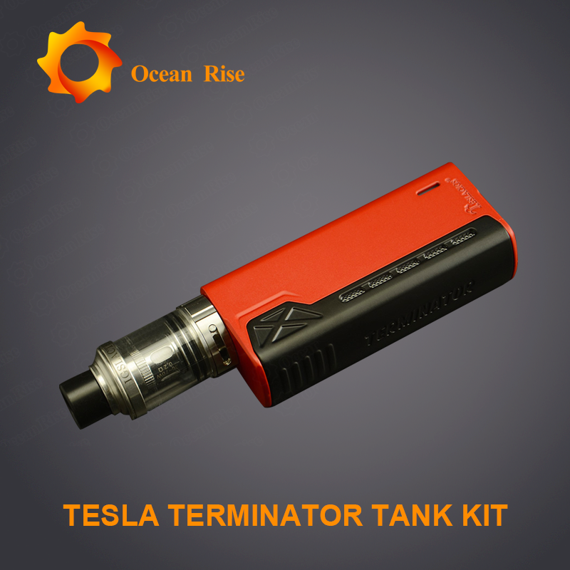 Tesla Terminator 90W starter kit with competitive price vapor tech for philippine