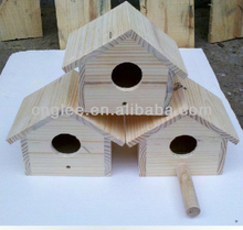 Wooden Craft Pet Cage Bird House