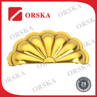 Special design shell shape zamak functional pull handle